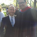 Mark and I at the 74th Commencement of the University of Valley Forge